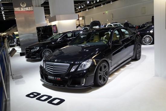 BRABUS Mercedes-Benz E V12 800 Frankfurt