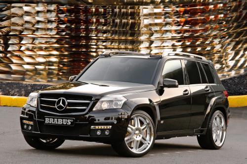 Mercedes-Benz тюнер вызов на выставке SEMA 2008: GLK в Лас-Вегасе