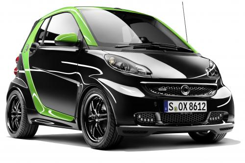 Brabus Smart Electric Drive и Smart ebike