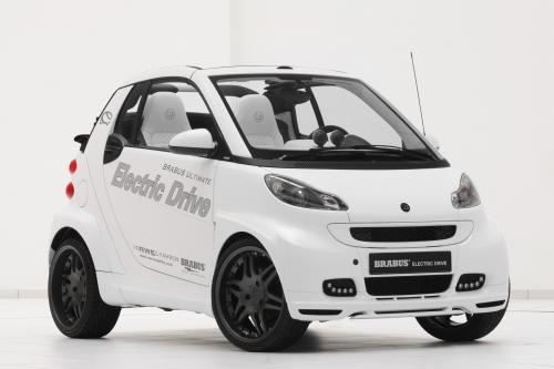 BRABUS ULTIMATE Smart ForTwo Electric Drive Convertible