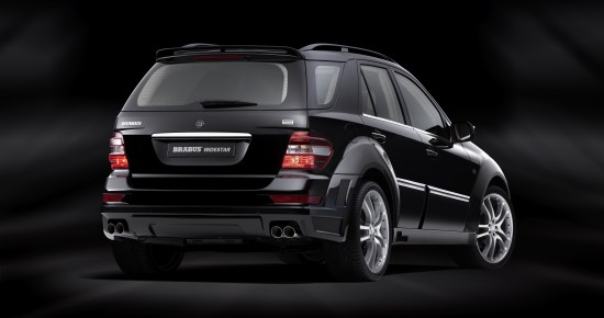 BRABUS WIDESTAR Mercedes-Benz M-Class Facelift Version
