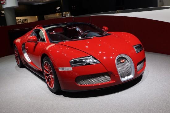 Bugatti Grand Sport Frankfurt