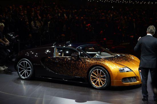 Bugatti Grand Sport Venet Geneva