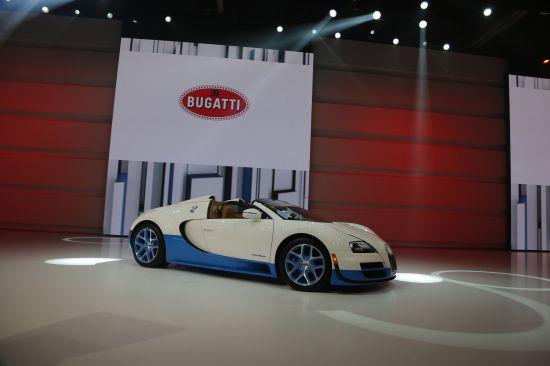 Bugatti at Paris Motor Show