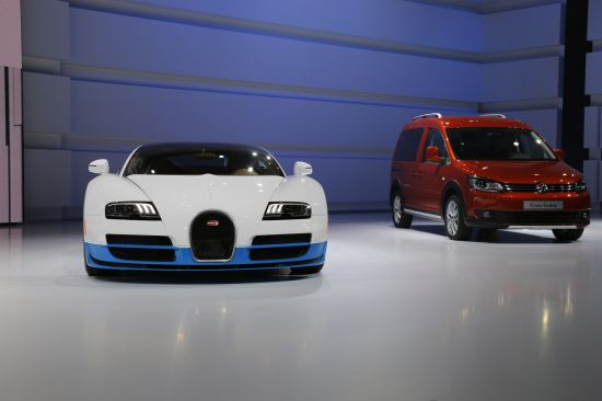 Bugatti at Paris Motor Show