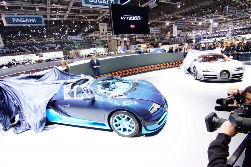 Bugatti Grand Sport Vitesse дебют в Женеве