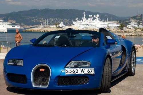 Запуск производства для Bugatti Veyron 16.4 Grand Sport