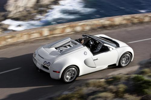 Новый Bugatti Veyron 16.4 Grand Sport