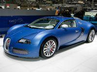 Bugatti Veyron Bleu Centenaire Geneva 2009, 1 of 3