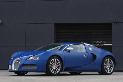 "Bugatti Veyron ""Bleu Centenaire"""