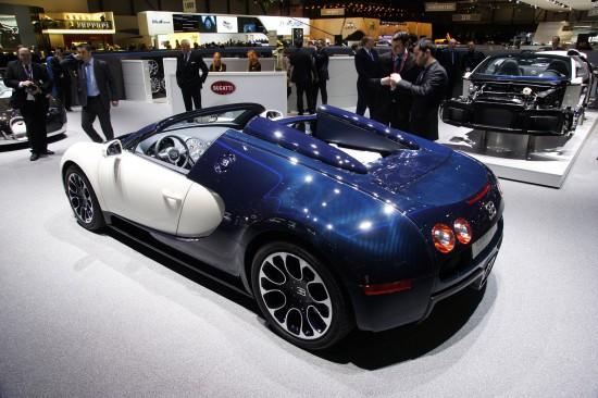 Bugatti Veyron Gran Sporti Geneva