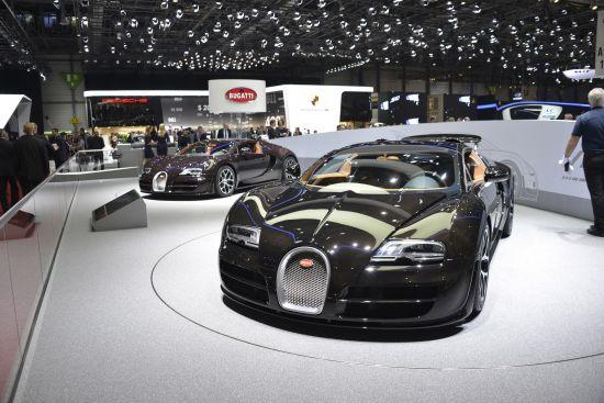 Bugatti Veyron Grand Sport Vitesse Geneva