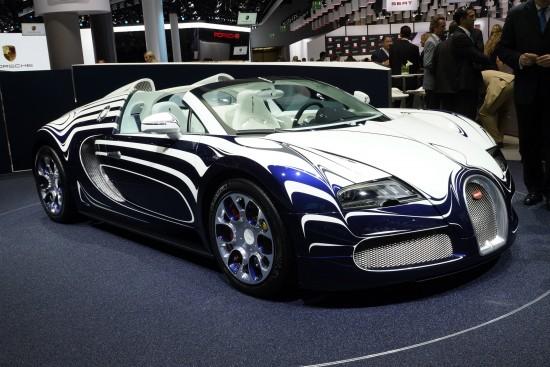 Bugatti Veyron LOr Blanc Frankfurt