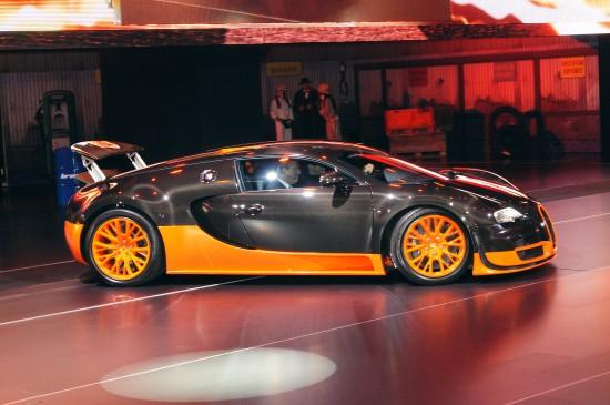 Bugatti Veyron Paris