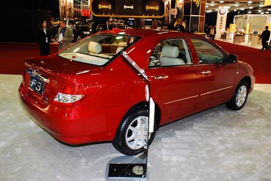 BYD Auto F3 Detroit