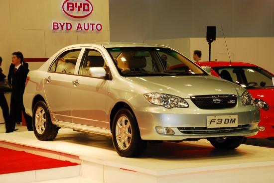 BYD Auto F3DM plug-in hybrid Detroit