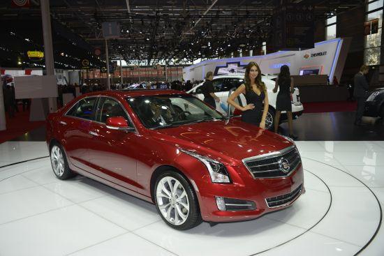 Cadillac ATS Paris