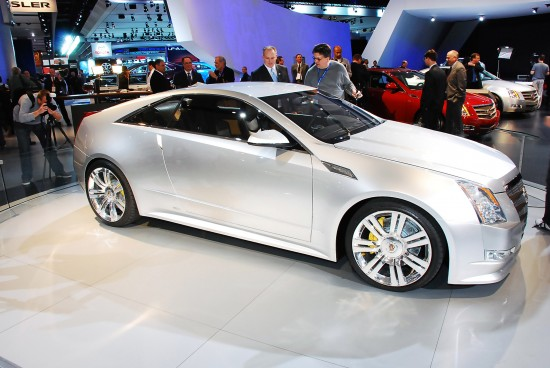 Cadillac CTS Coupe Detroit