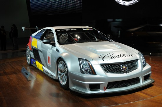 Cadillac CTS-V Coupe race car Detroit