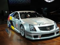 Cadillac CTS-V Coupe race car Detroit 2011