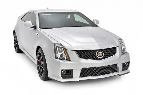 thumbs Cadillac CTS-V Coupe Silver Frost , 1 of 3