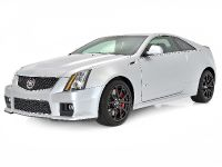 Cadillac CTS-V Coupe Silver Frost , 2 of 3