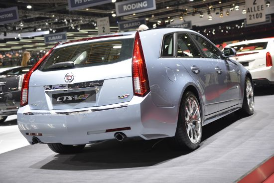 Picture 2 from gallery Cadillac CTS-V Geneva