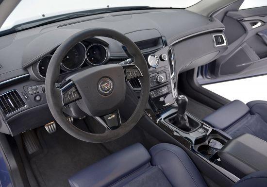 Cadillac CTS-V Stealth Blue