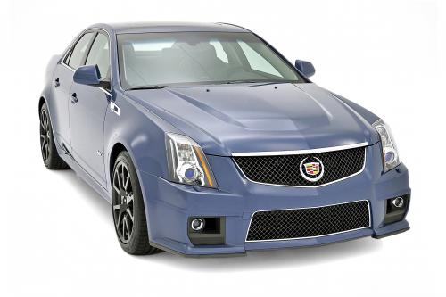 thumbs Cadillac CTS-V Stealth Blue , 1 of 5
