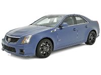Cadillac CTS-V Stealth Blue , 2 of 5