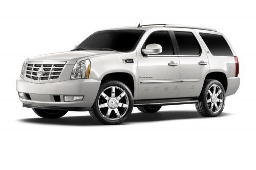 Cadillac Escalade добавляет технологией flexfuel за 2009 год