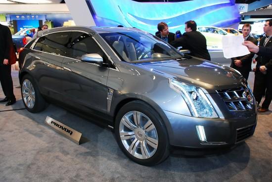 Cadillac Provoq Concept Detroit
