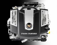 Cadillac Twin-Turbo V6 in 2014 CTS Sedan - PIC82925