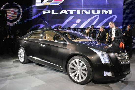 Cadillac XTS Platinum Concept Detroit