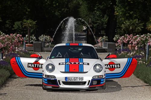 Porsche 997 GT3 с Новый наряд с помощью кулачкового вала