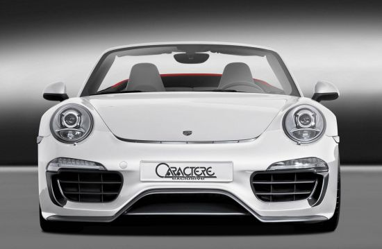 Caractere Exclusive Porsche 911 Cabriolet 01