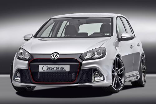 Caractere улучшает визуально VW Golf 6 GTi