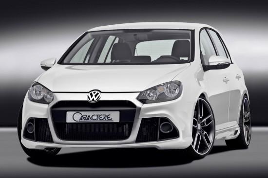 Caractere VW Golf 6
