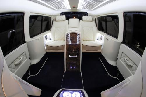 Carisma Auto Design Расширяет Интерьер Land Rover Defender