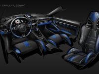 thumbnail image of Carlex Design Porsche 911 Blue Electric