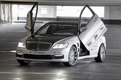 CFC Mercedes-Benz S65 AMG - быстрые и агрессивные