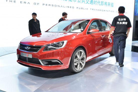 Chery Alpha Sedan Shanghai
