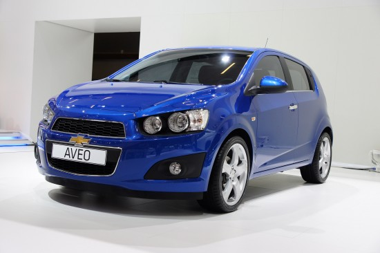 Chevrolet Aveo Paris