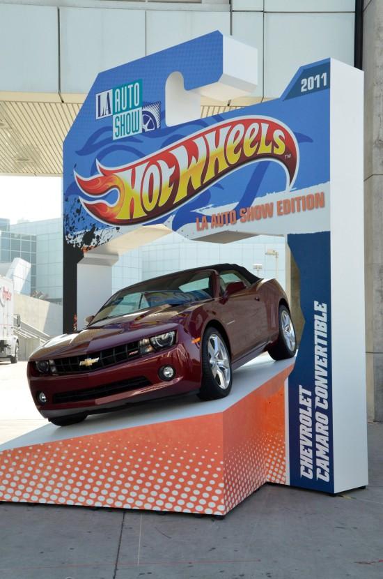 Chevrolet Camaro Convertible Hot Wheels Los Angeles