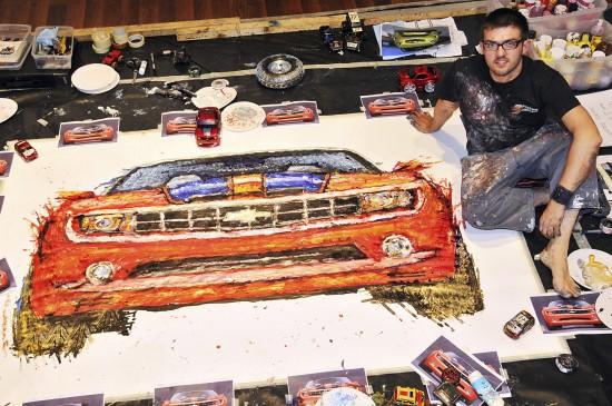 Chevrolet Camaro Convertible Painting