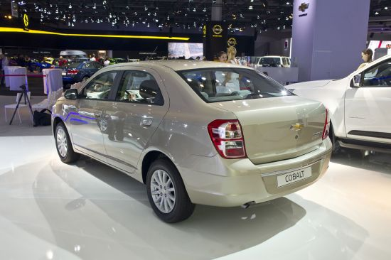 Chevrolet Cobalt Moscow