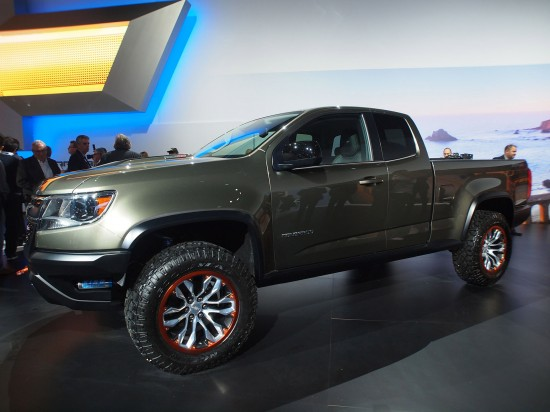 Chevrolet Colorado ZR2 Concept  Los Angeles