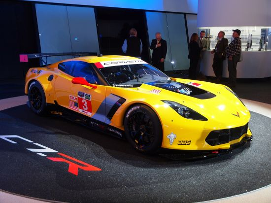 Chevrolet Corvette C7.R race car Detroit