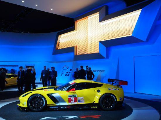 Chevrolet Corvette C7.R race car Detroit