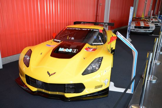Chevrolet Corvette C7.R Race Car New York